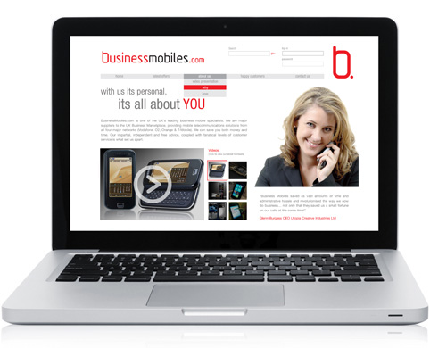 business mobiles website