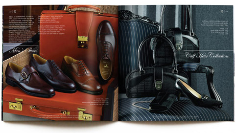 brooks brothers brochure spread