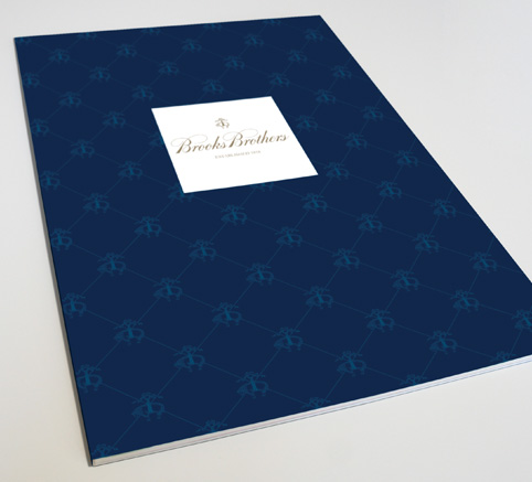 brooks brothers brochure cover